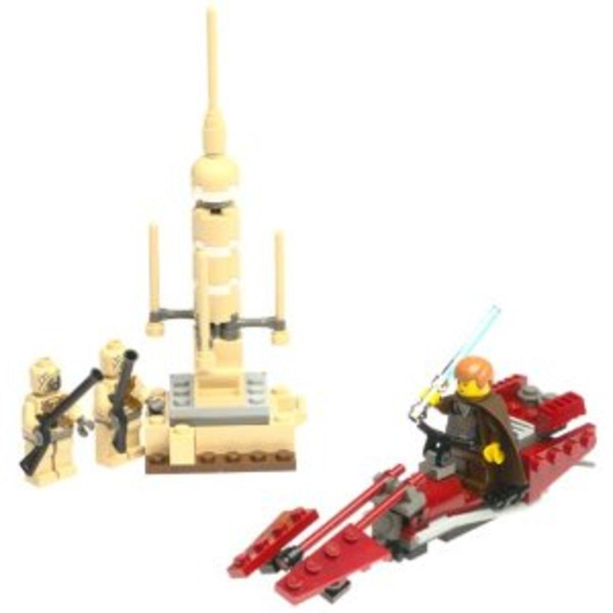 LEGO Star Wars Tusken Raider Encounter 7113 Assembled
