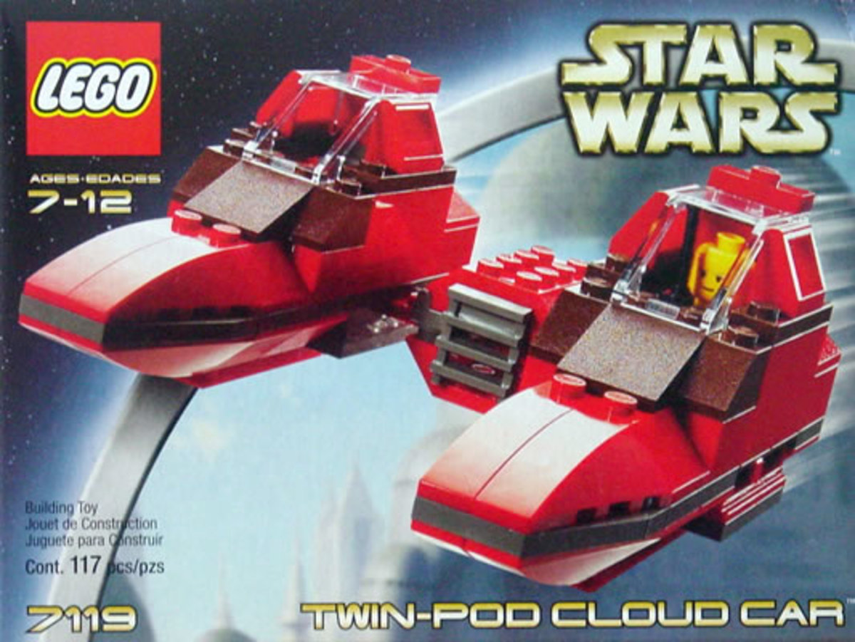 LEGO Star Wars Twin-Pod Cloud Car 7119 Box