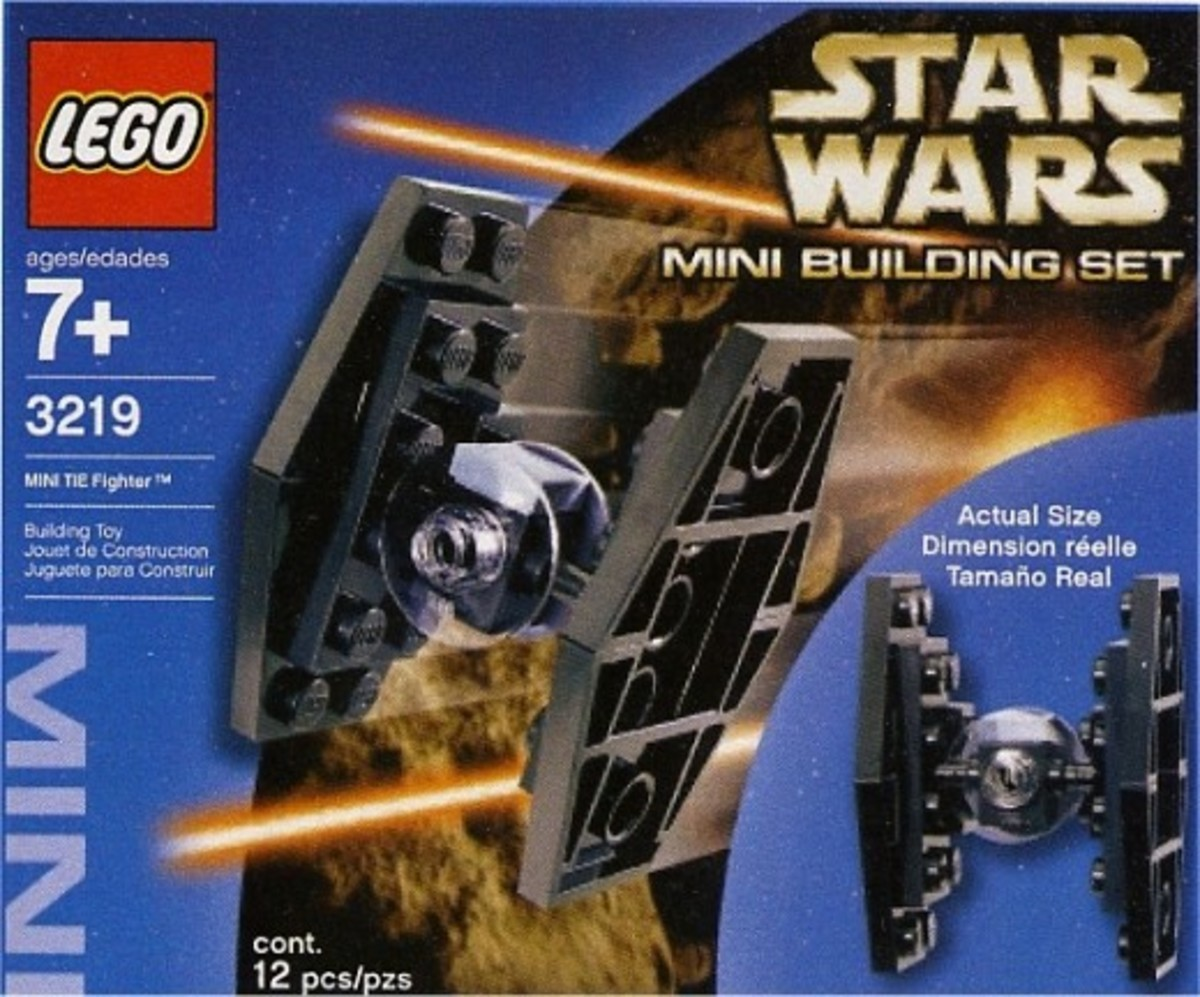 Lego Star Wars Tie Fighter 3219 Box