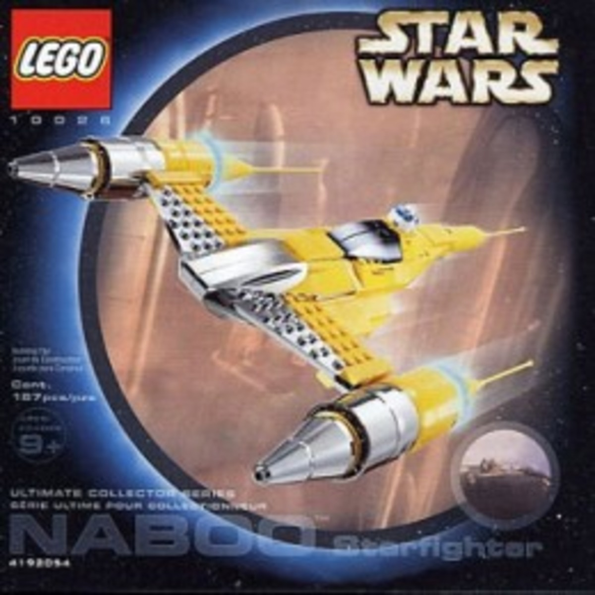 Lego Star Wars Naboo Starfighter 10026