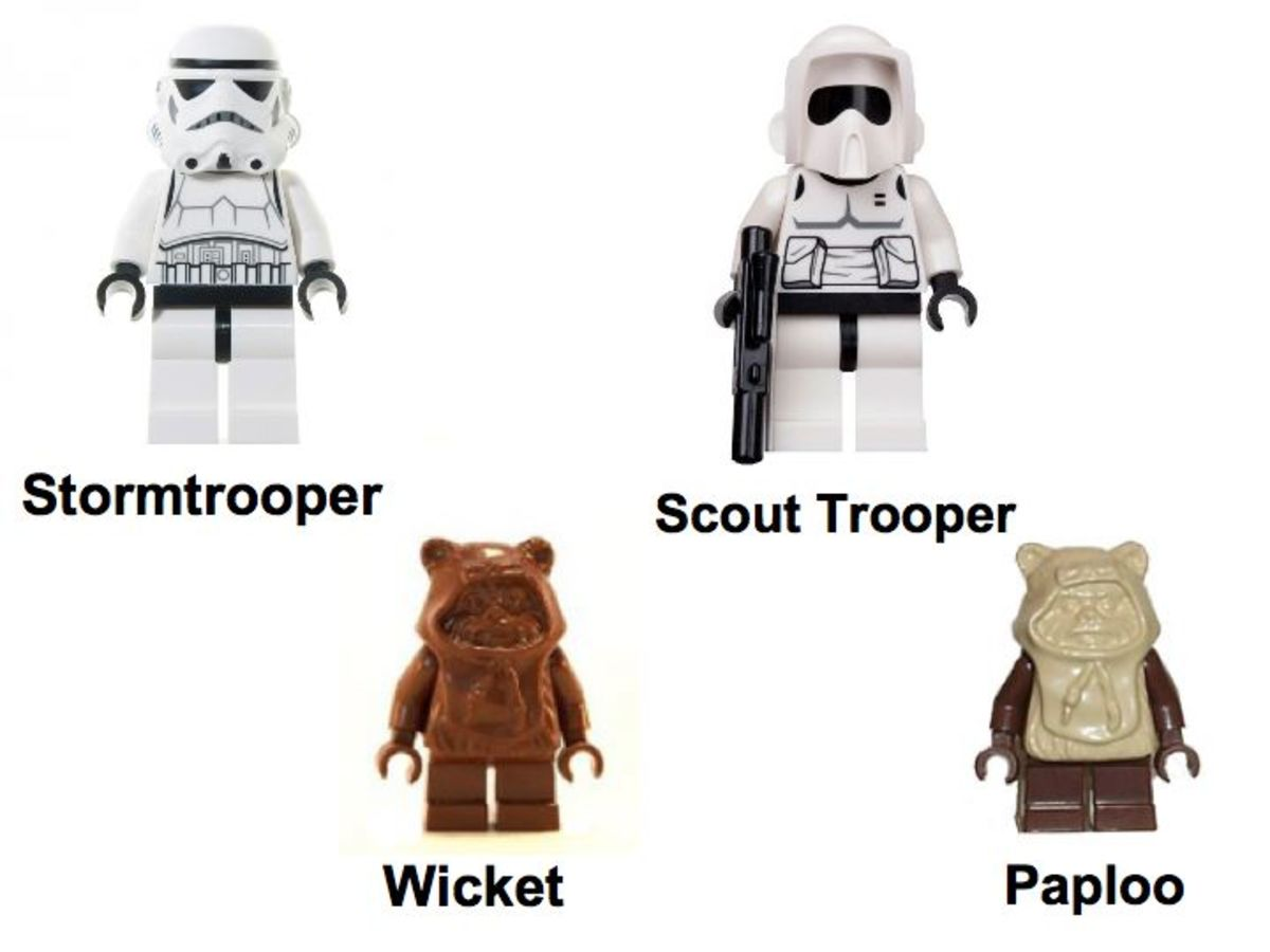 LEGO Star Wars Ewok Attack 7139 Minifigures