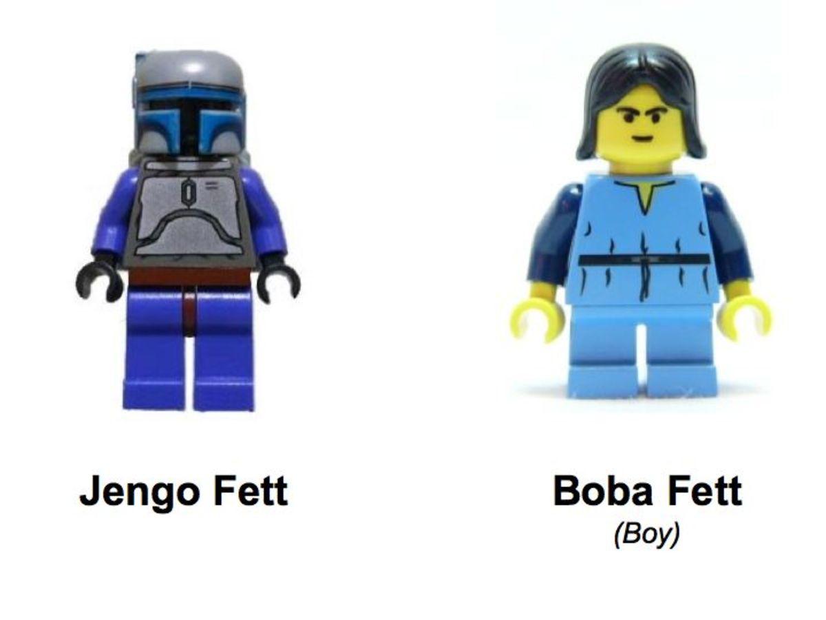 LEGO Star Wars Jango Fett Slave I 7153 Minifigures