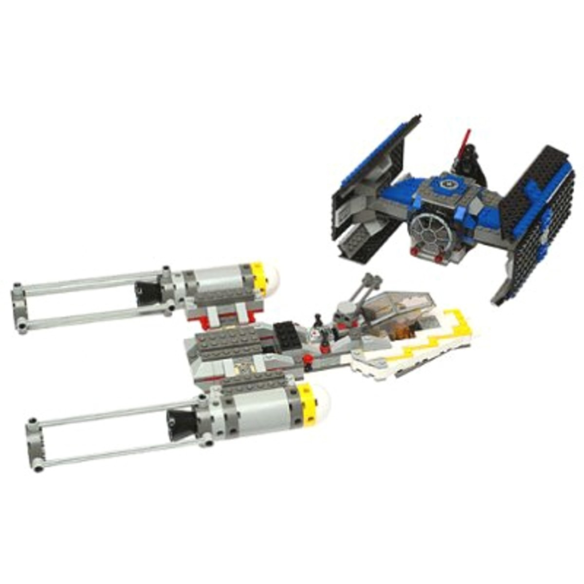 LEGO Star Wars Tie Fighter & Y-Wing 7152 Assembled