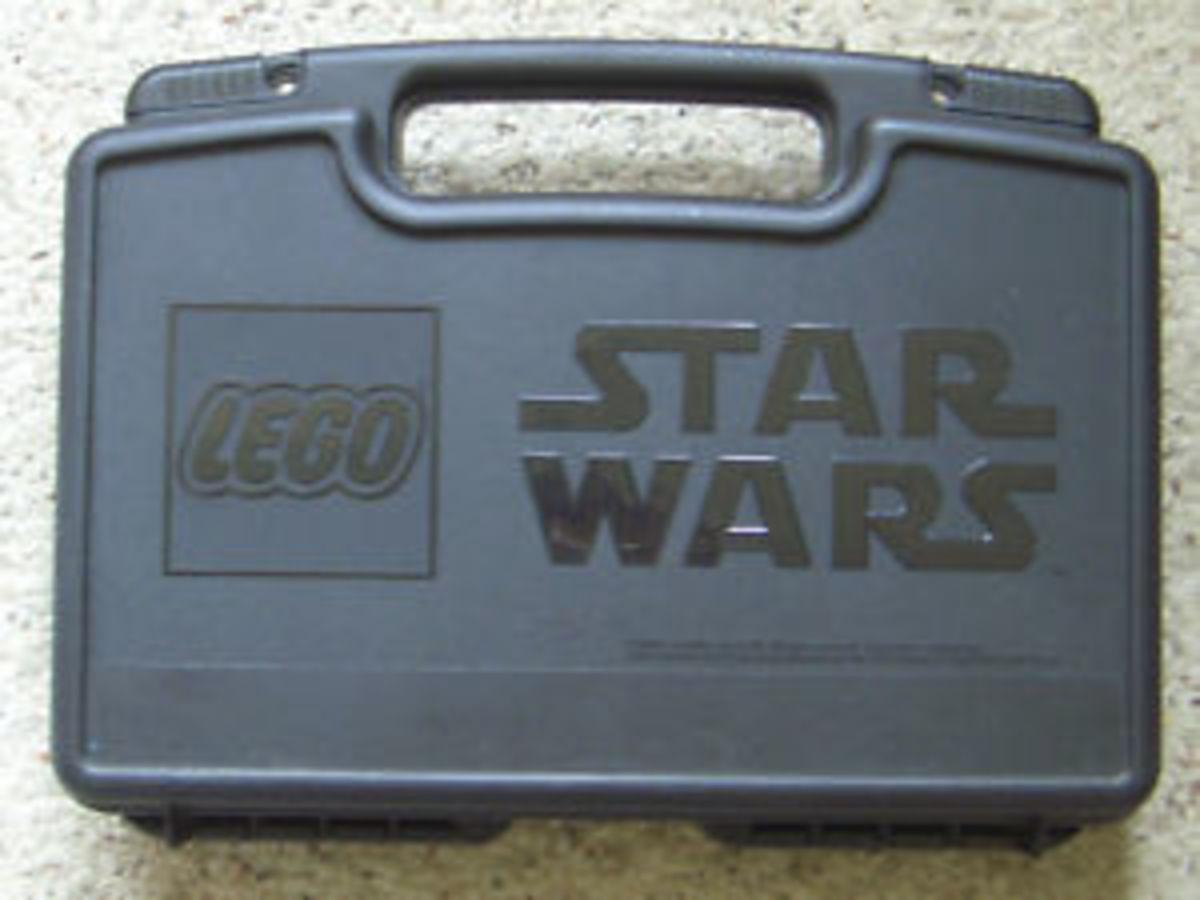 LEGO Star Wars Jango Fett Slave I with Cargo Case 65153 Storage Case