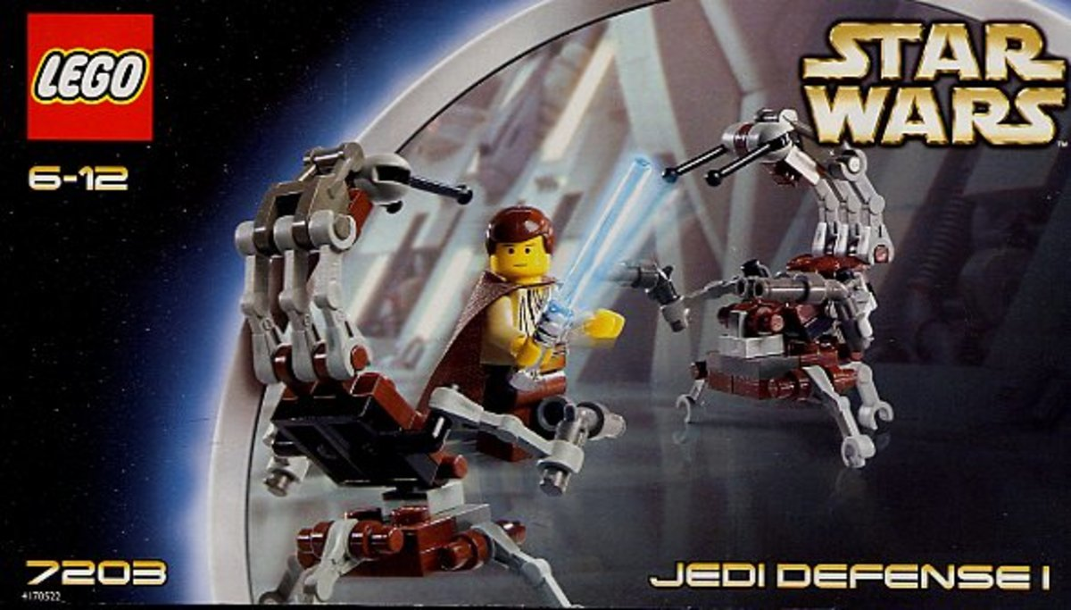 LEGO Star Wars Jedi Defense 1 7203 Box