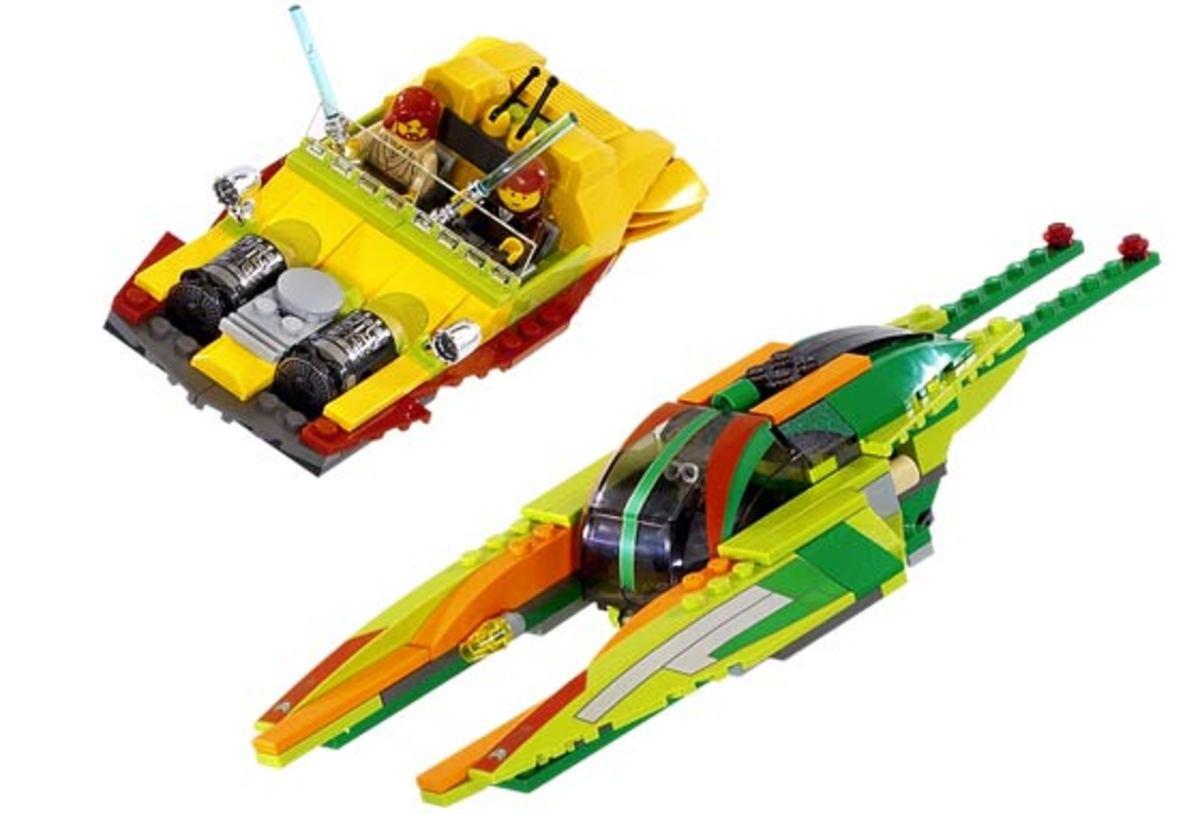 LEGO Star Wars Bounty Hunter Pursuit 7133 Assembled