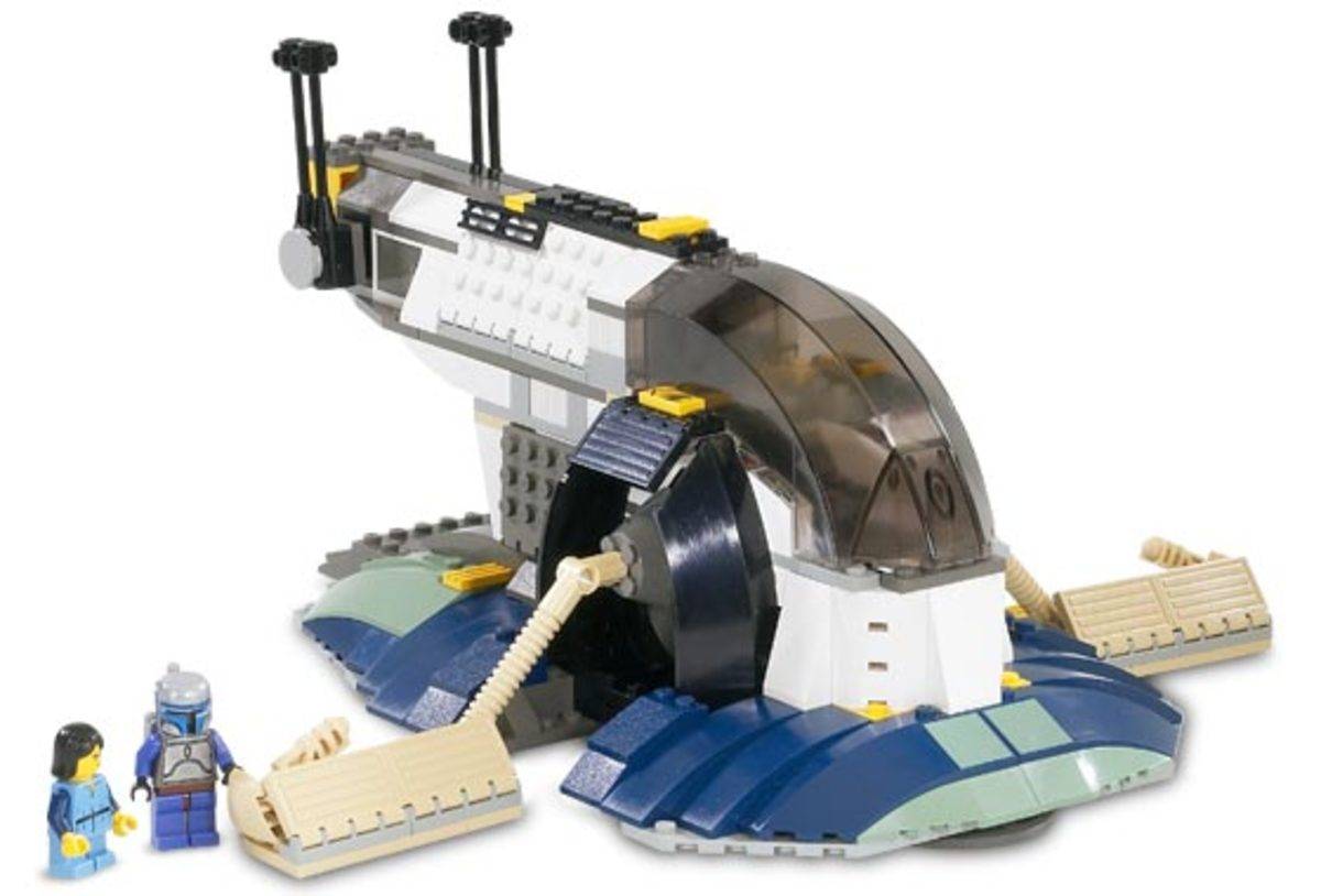 LEGO Star Wars Jango Fett Slave I 7153 Assembled