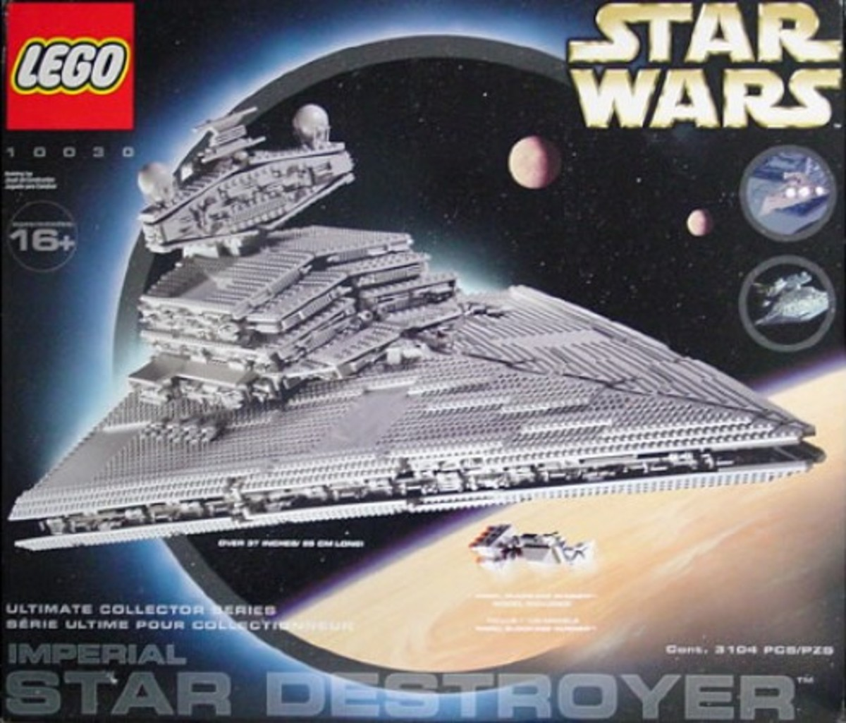 Lego Star Wars Imperial Star Destroyer 10030 Box