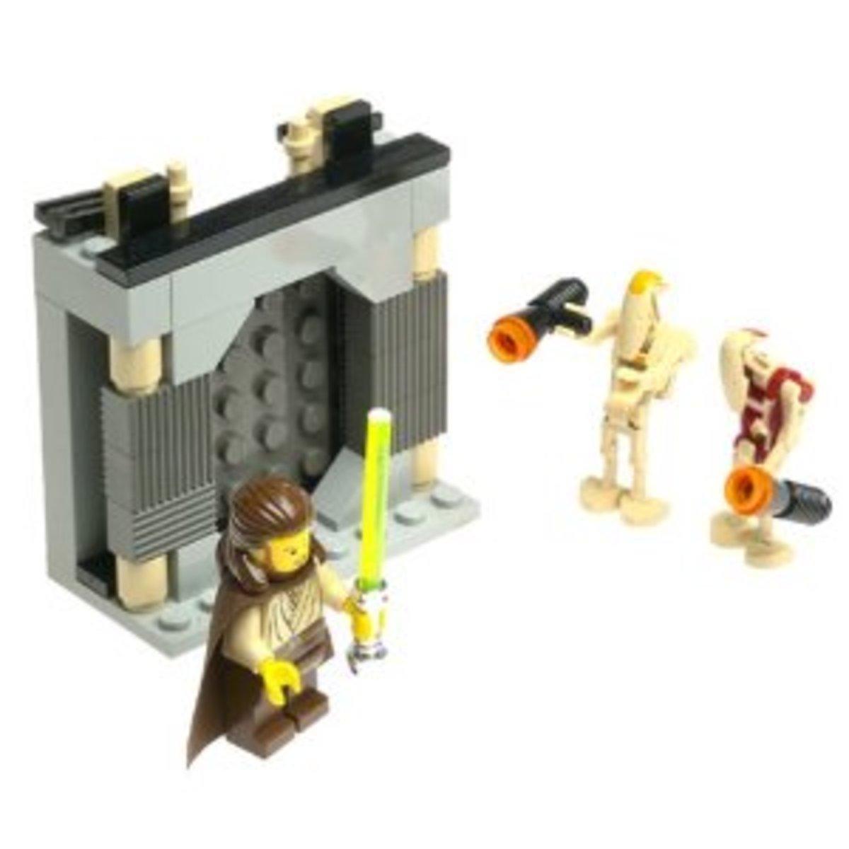 LEGO Star Wars Jedi Defense 2 7204 Assembled