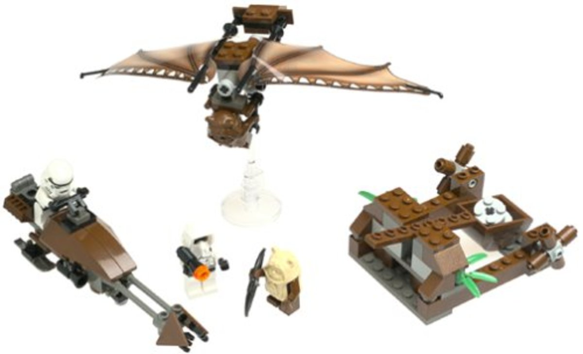 LEGO Star Wars Ewok Attack 7139 Assembled