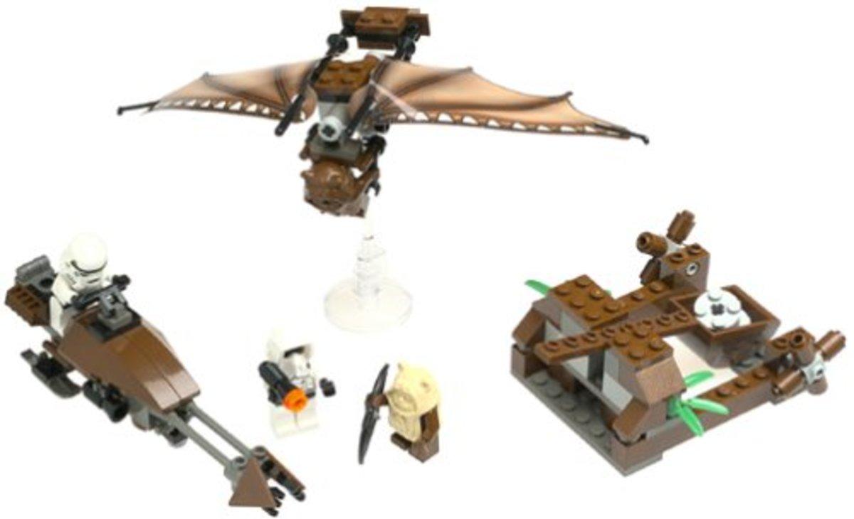 LEGO Star Wars Ewok Attack 7139 Assembled
