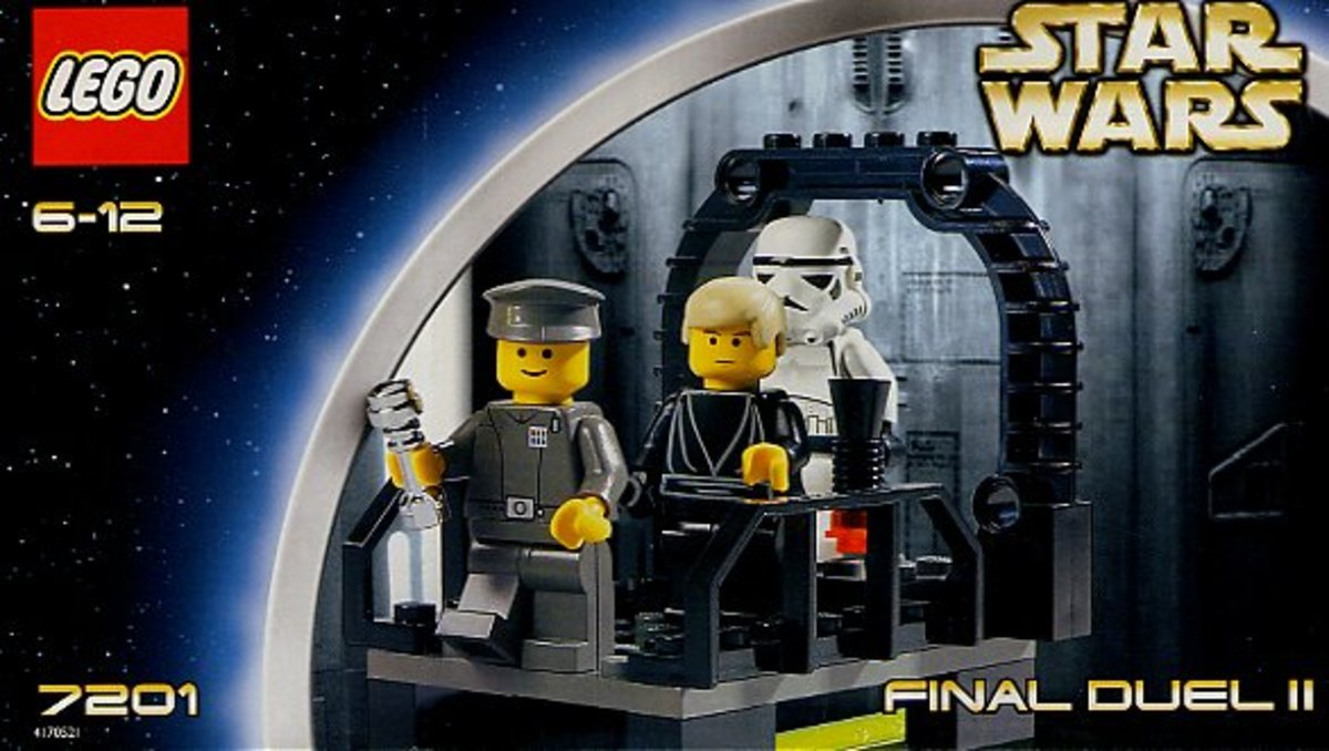 LEGO Star Wars Final Duel 2 7201 Box