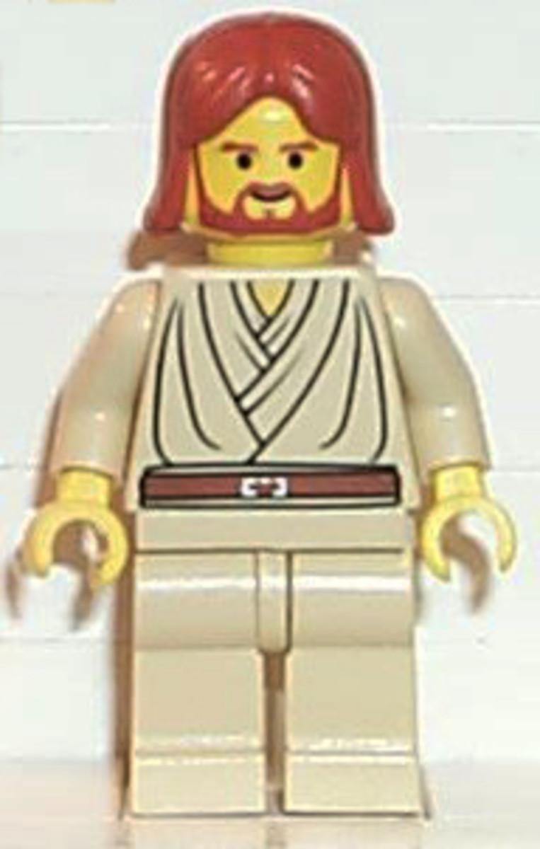 LEGO star wars Jedi Starfighter 7143 Obi-Wan Kenobi Jedi Knight