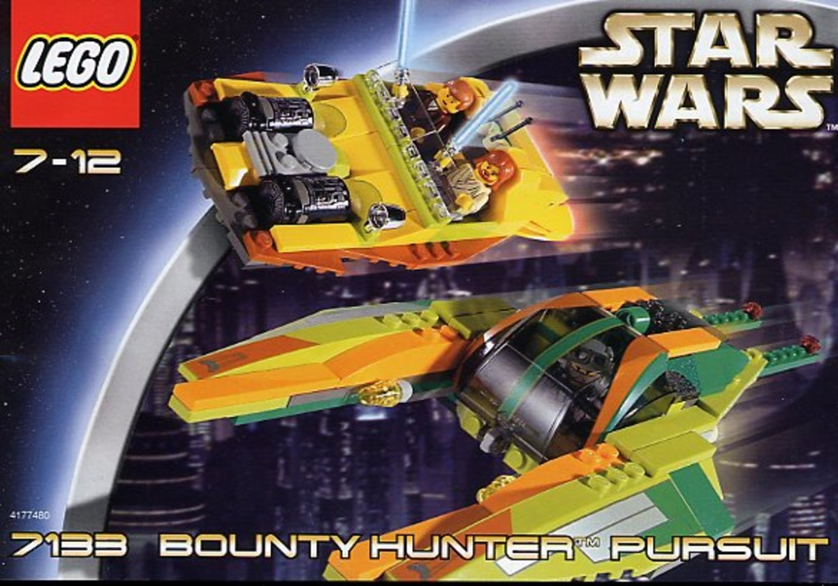 LEGO Star Wars Bounty Hunter Pursuit 7133 Box