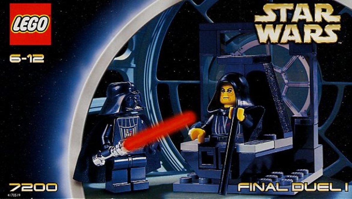 LEGO Star Wars Final Duel 1 7200 Box