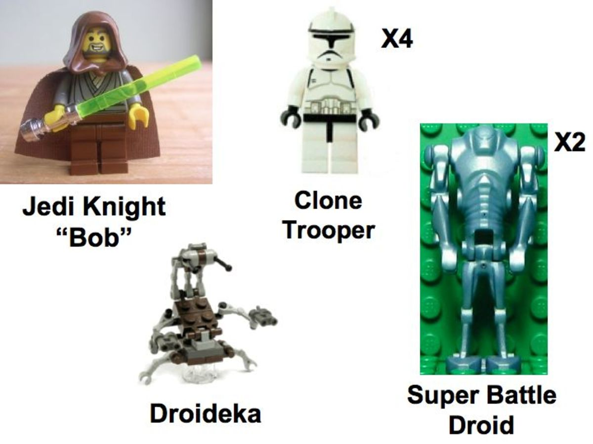 LEGO Star Wars Republic Gunship 7163 Minifigures