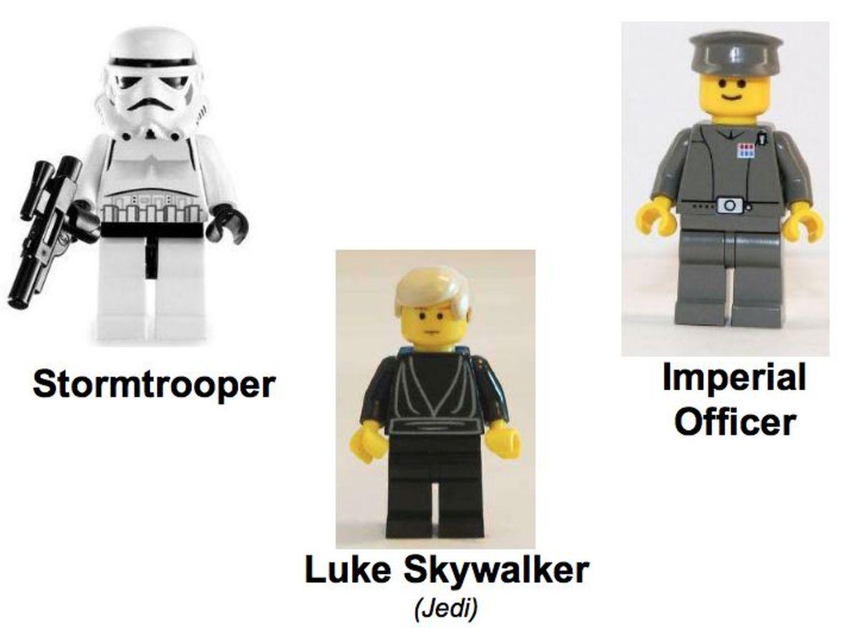 LEGO Star Wars Final Duel 2 7201 Minifigures