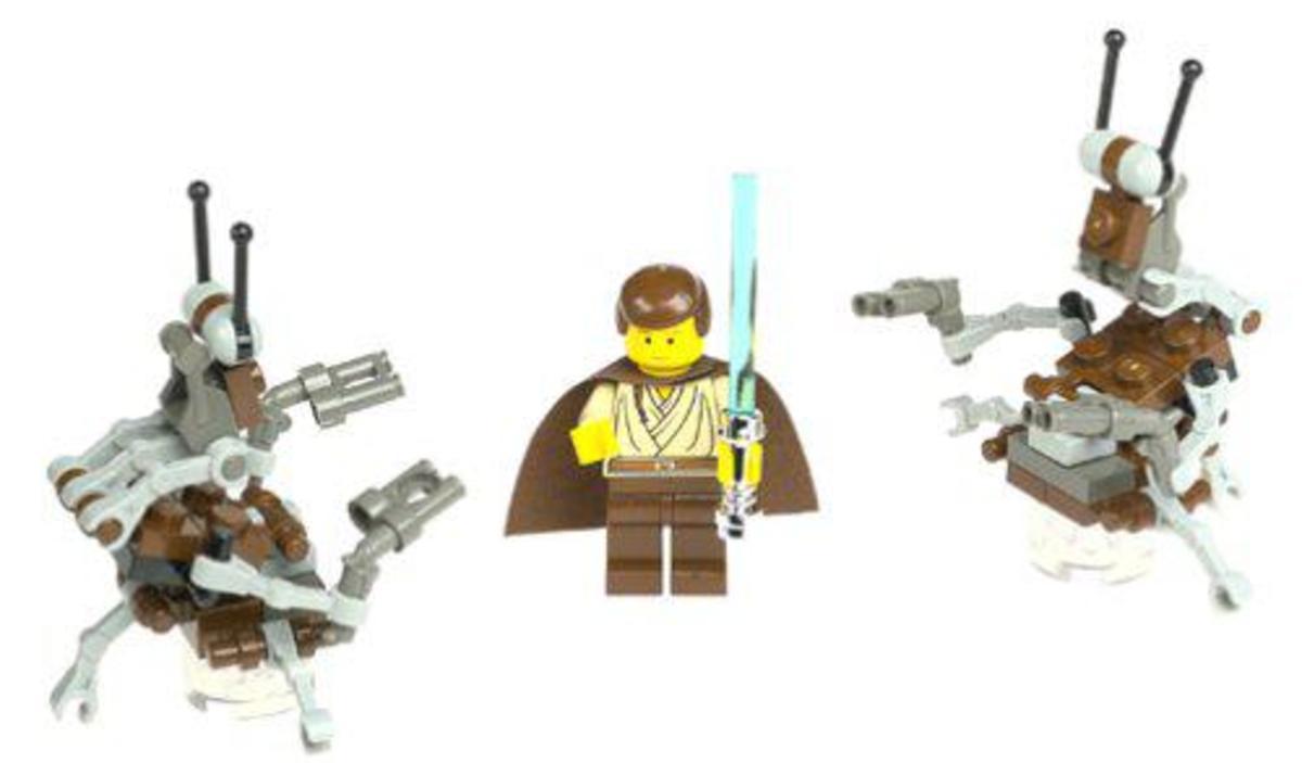 LEGO Star Wars Jedi Defense 1 7203 Assembled