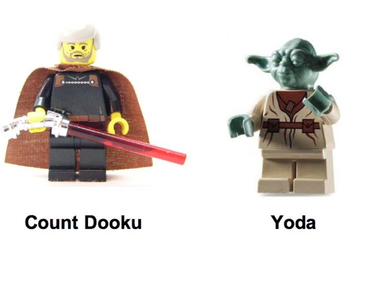 LEGO Star Wars Jedi Duel 7103 Minifigures