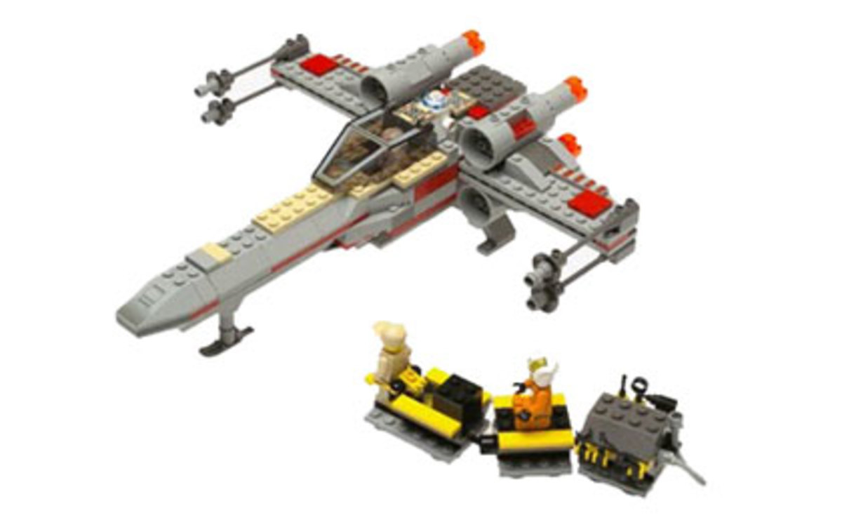LEGO Star Wars X-Wing Fighter 7142 Assembled