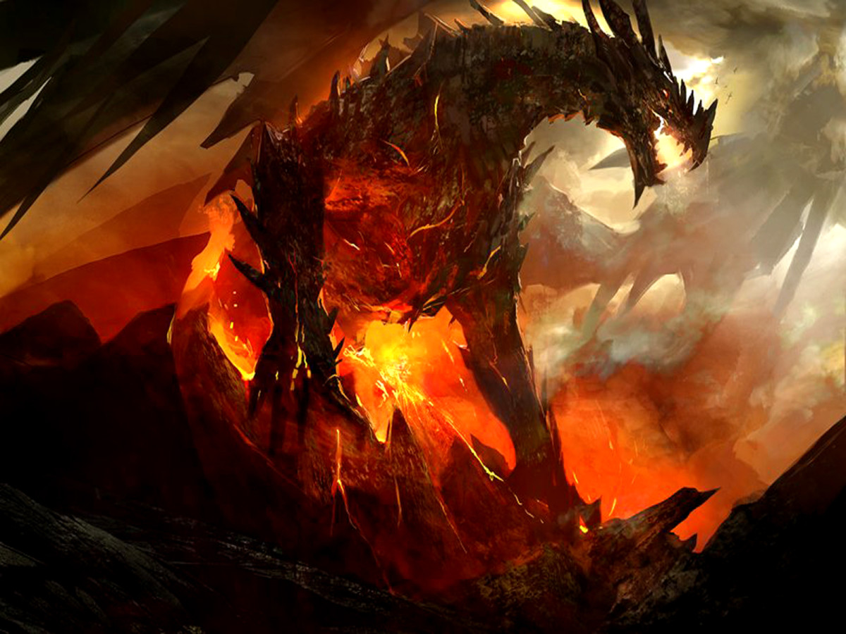 Powerful Dragon Wallpapers
