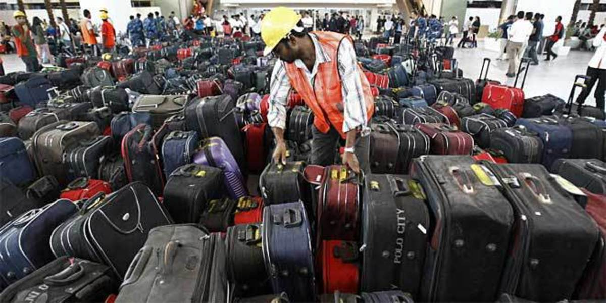 Airlines lose a small percentage of bags every year, make sure yours is not there.
