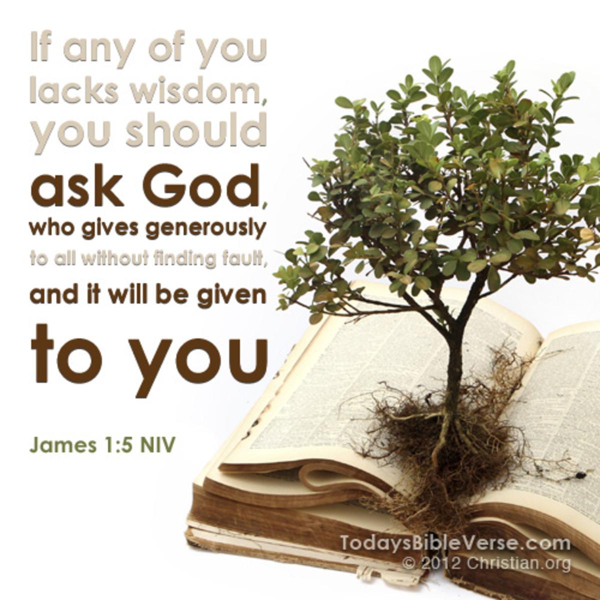 Do you Lack Wisdom?