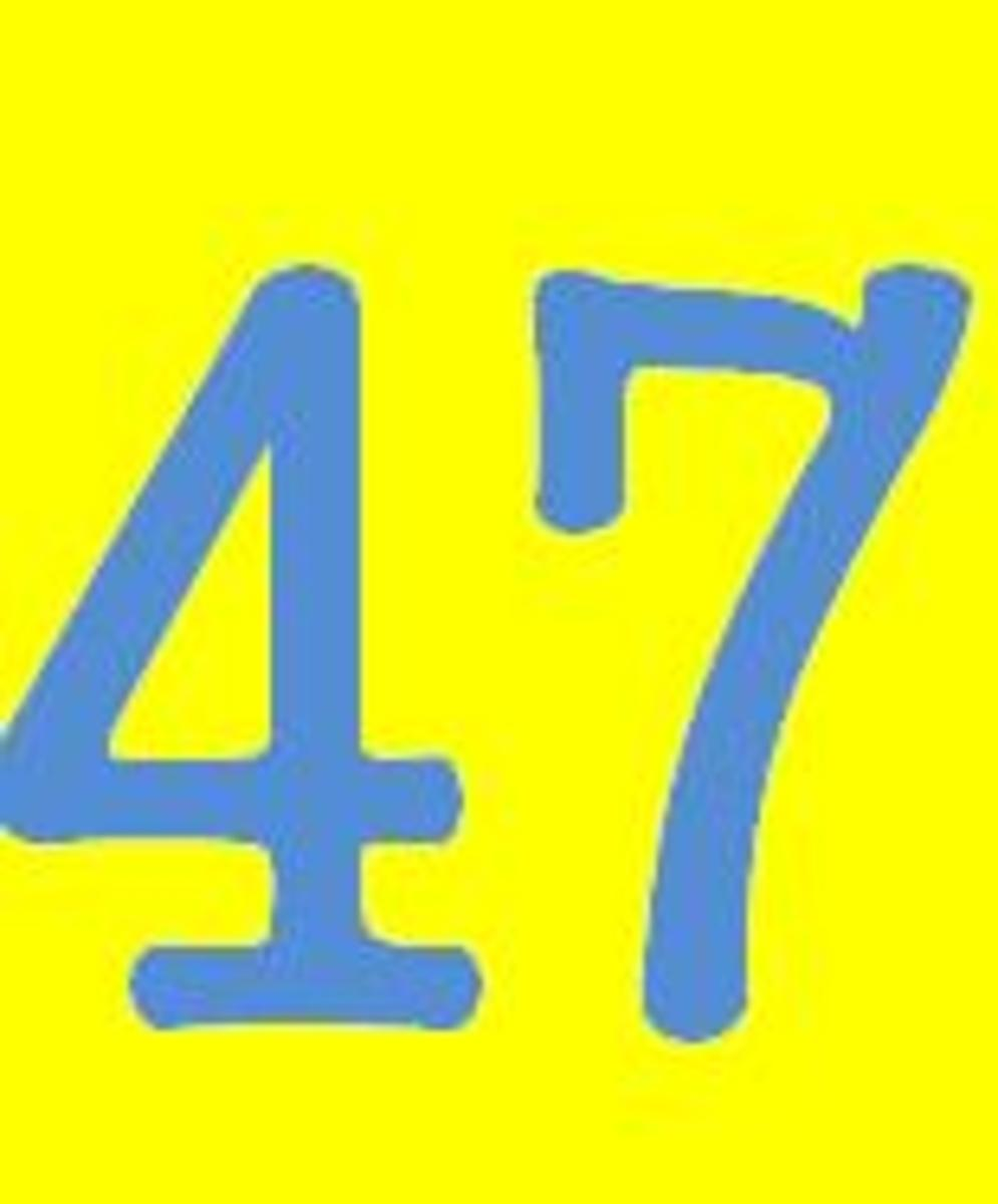 47. Math Facts And Other Fun Facts About The Number 47.