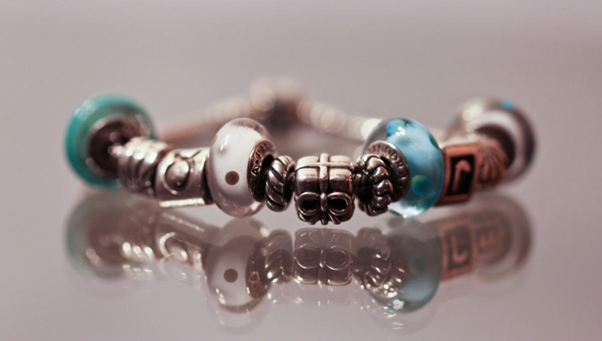 How I Created the Perfect Pandora Style Bracelet