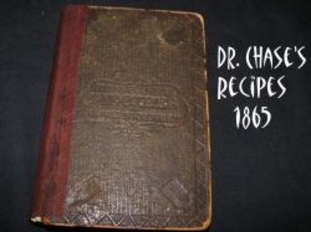 Dr. Chases Recipe Book photo by Diane Cass