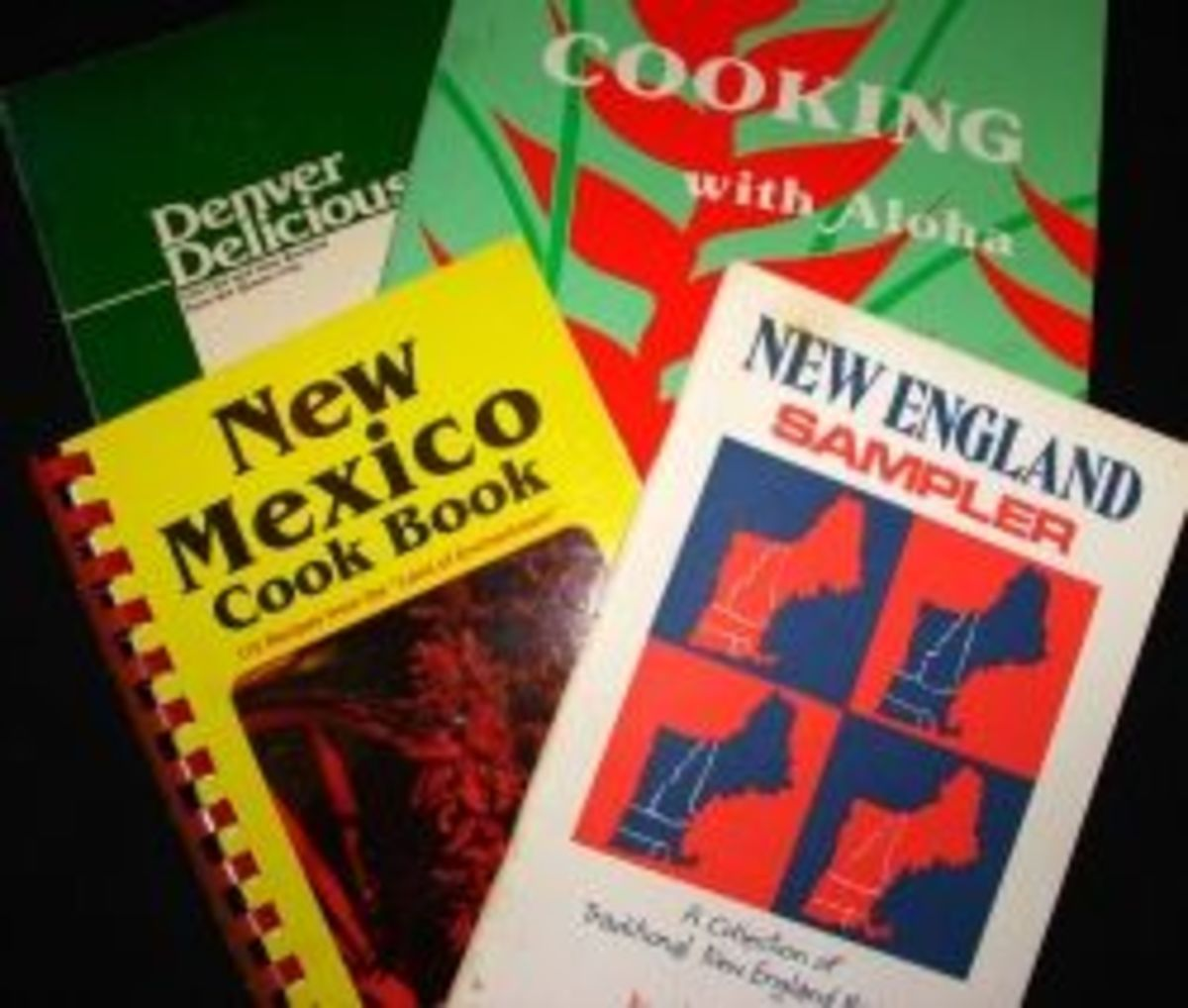 My Collection of Regional Cookbooks by Diane Cass