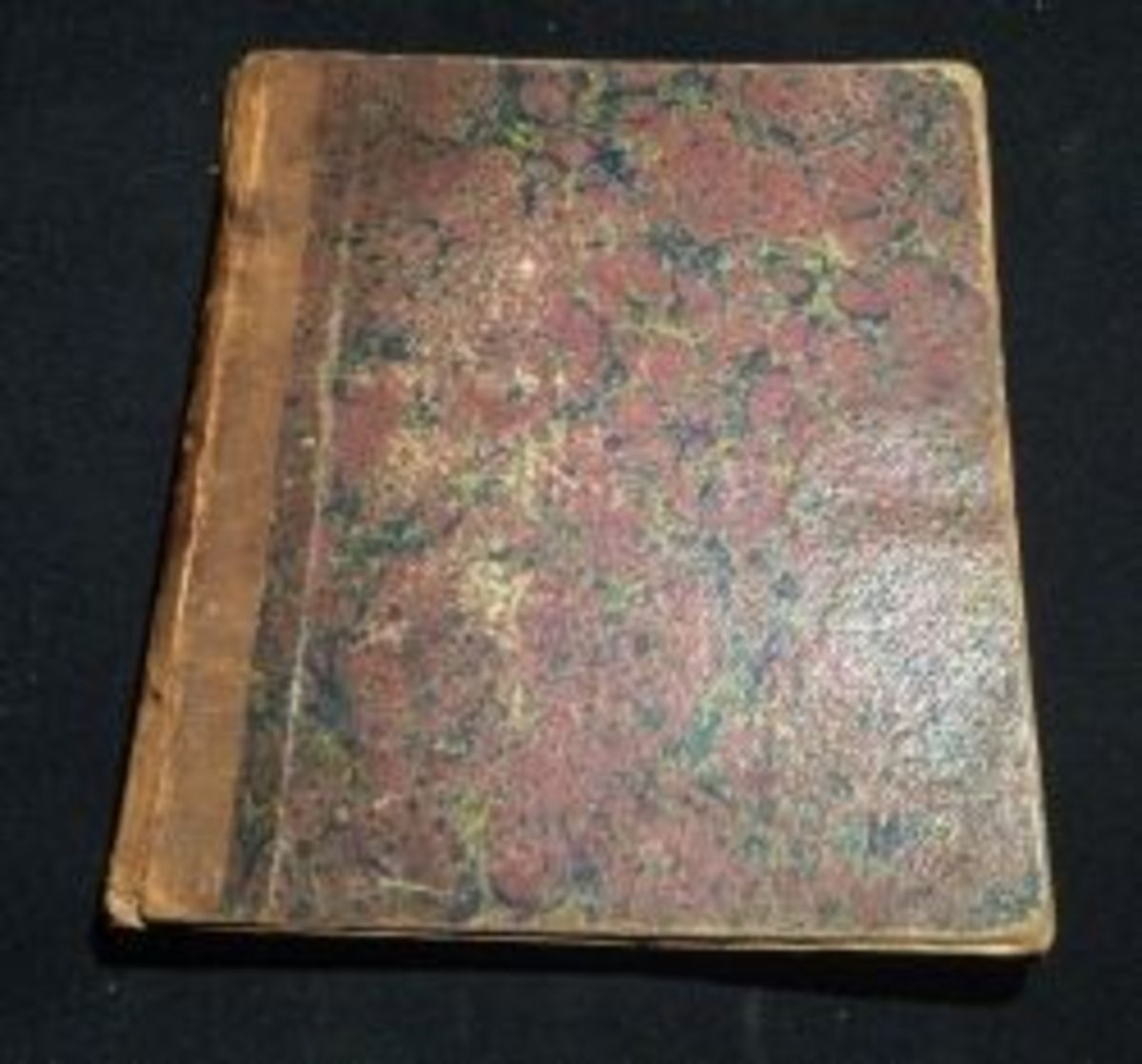 1848 Handwritten Cookbook photo by Diane Cass