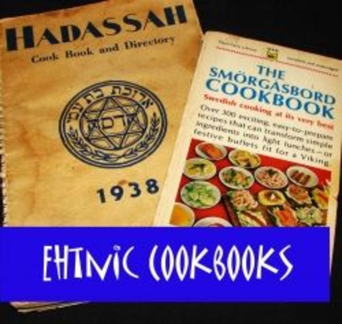 Enthic cookbooks in my collection by Diane Cass