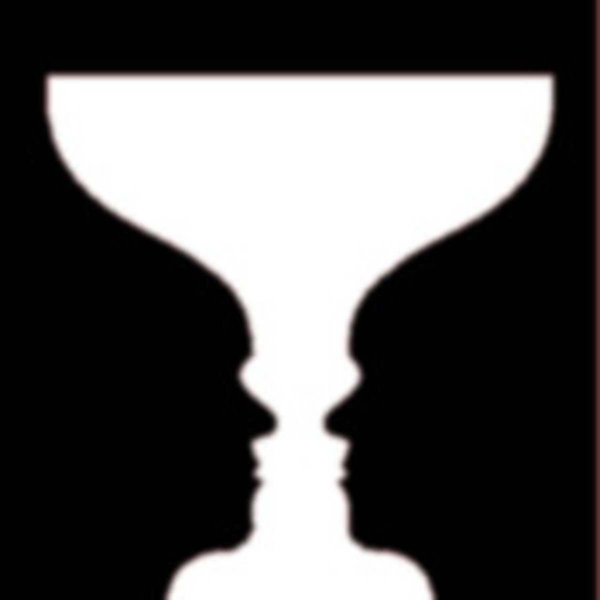 Two faces or a goblet?