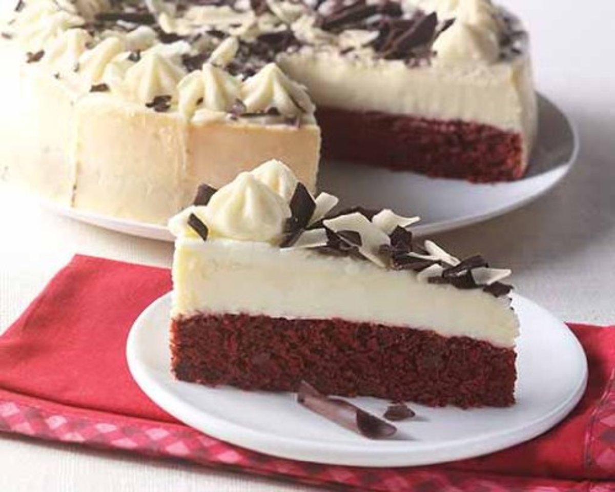 Red Velvet Flavor Cheesecake
