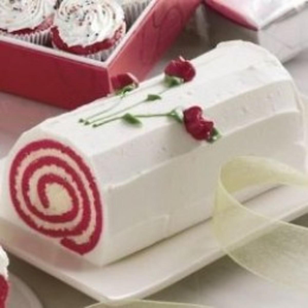 Wisconsin Cheeseman Red Velvet Swirl Cake