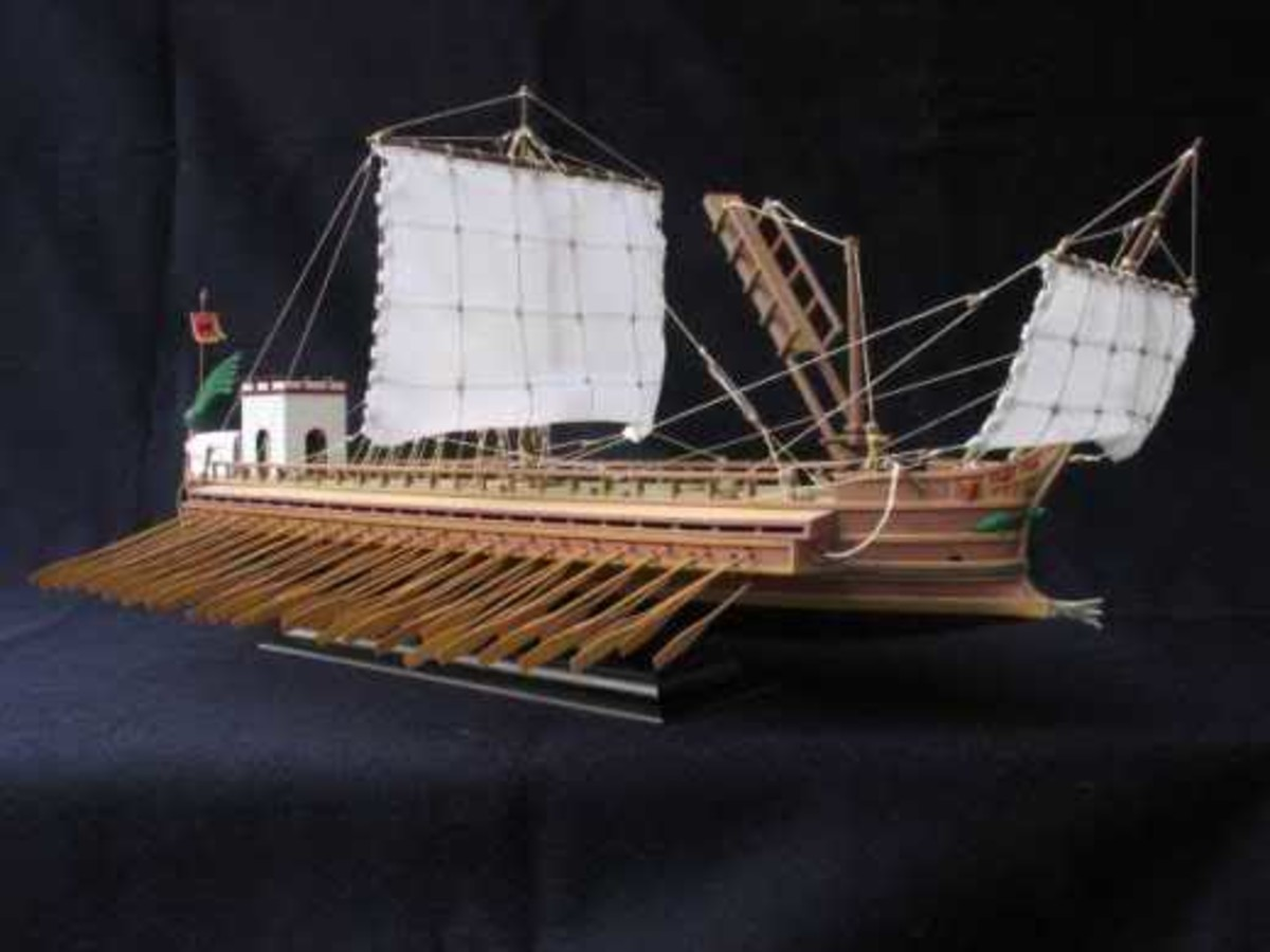 Model of a Quadrireme