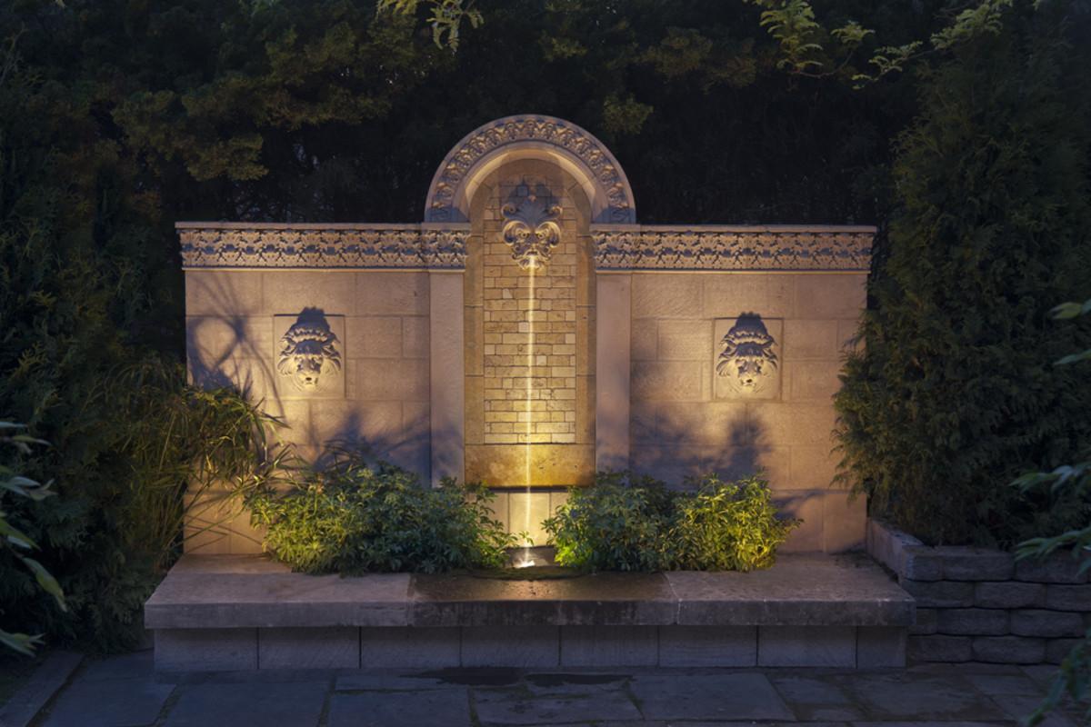 tuscany wall fountain - photo#34