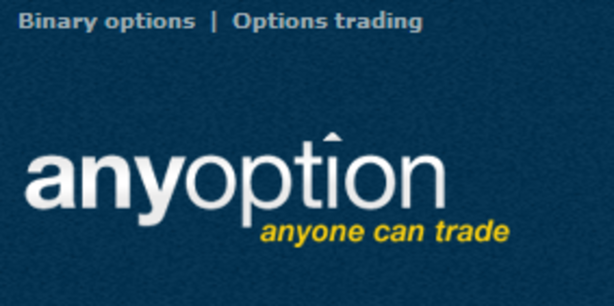 AnyOption is a leader among binary options trading platforms. It is innovating CySEC binary options with 0-100 options.