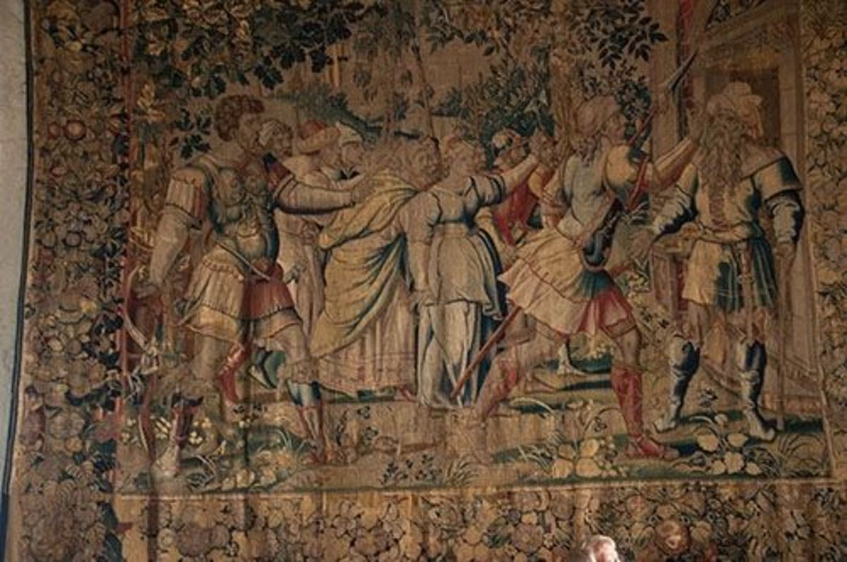 Bunratty tapestry