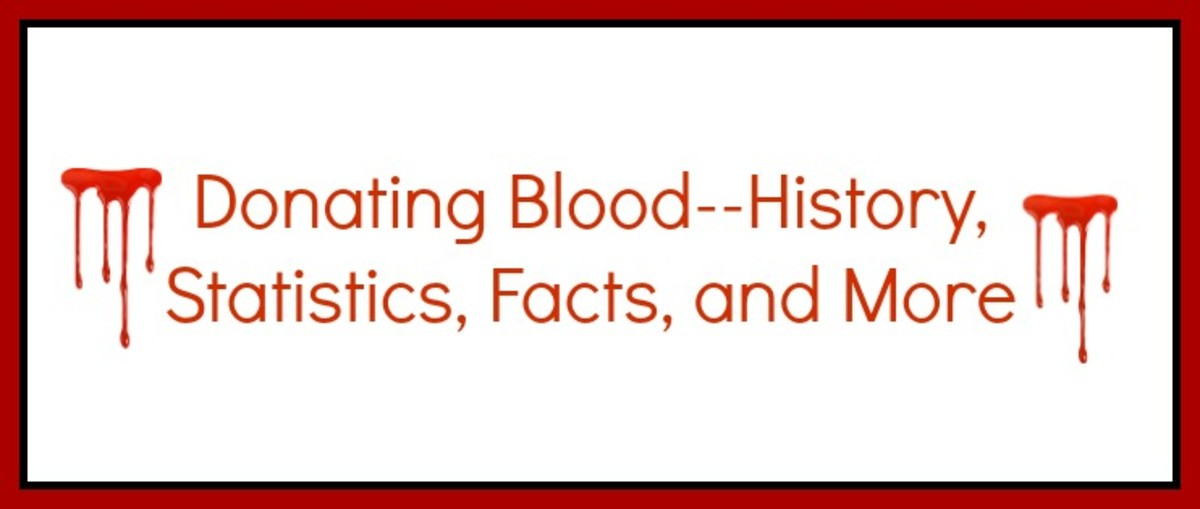 Donating Blood--History, Statistics, Facts and More