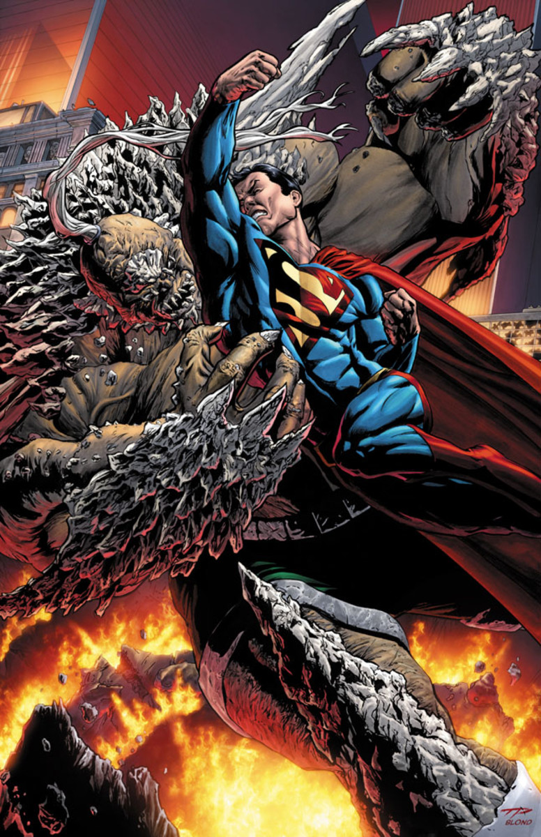 Superman Doomsday - warriors unleashed