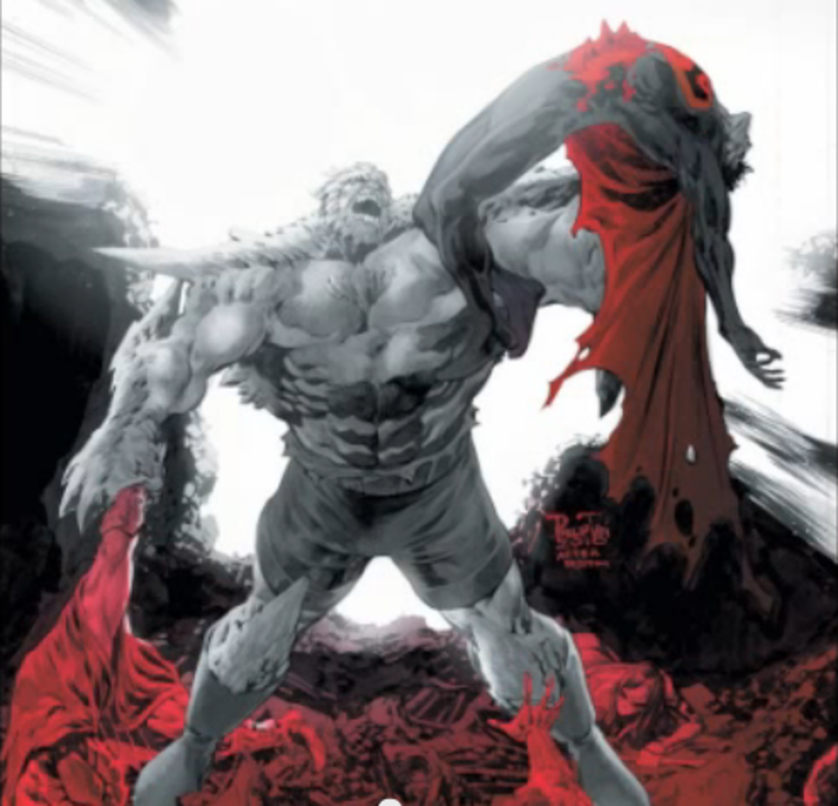 Sorry Marvel Hulk fans...but he doesn't stand a chance against Doomsday.