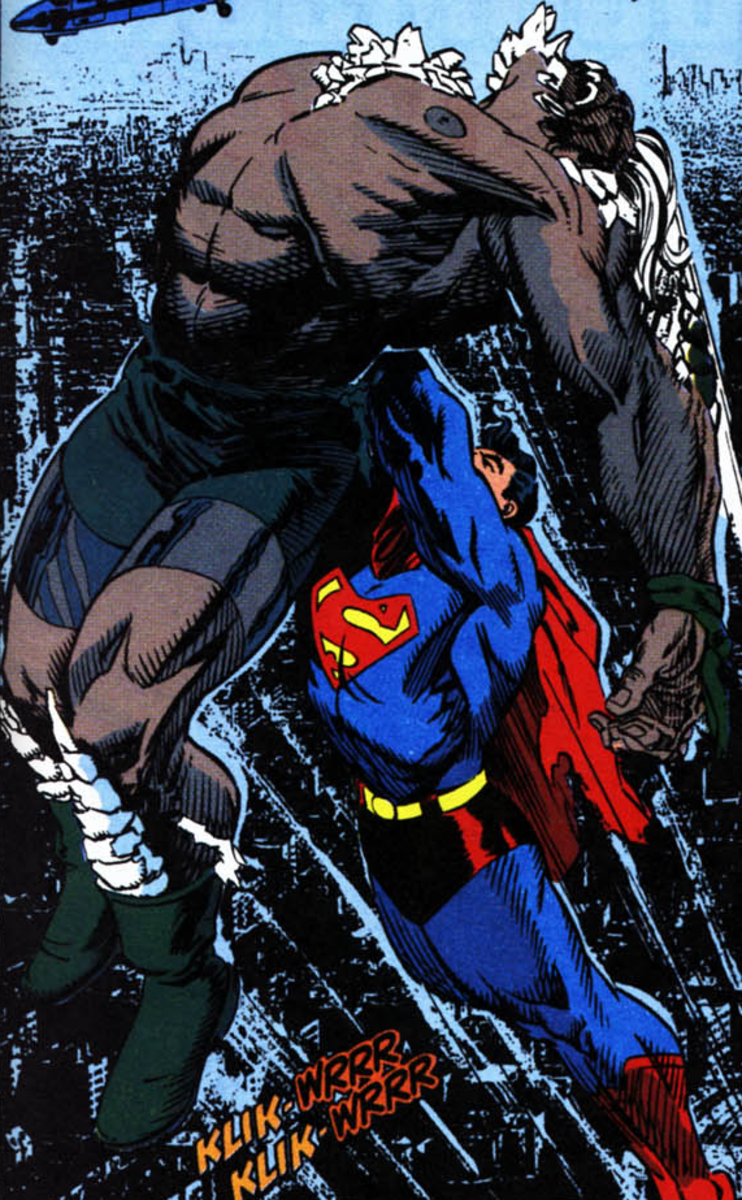 Superman Doomsday - skyward