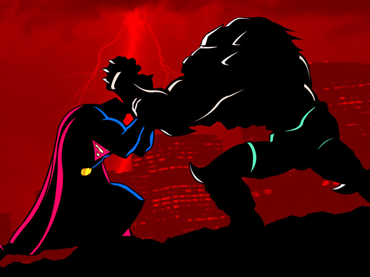 Superman meets his match in the supermonster Doomsday