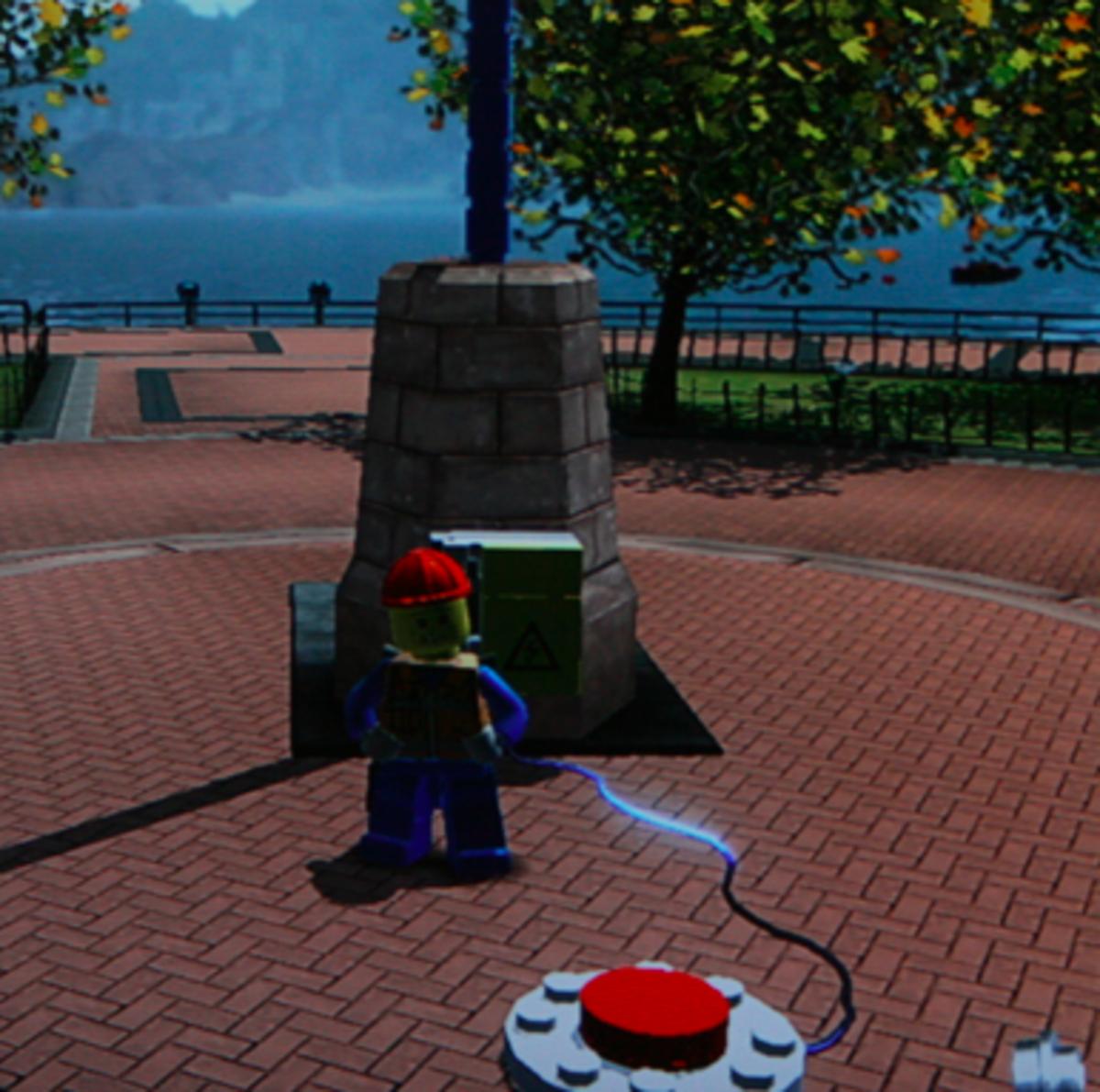 LEGO City Undercover walkthrough: Drill Thrill Locations
