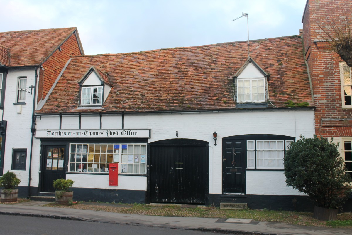Dorchester-on-Thames Post Office, Oxfordshire, England
