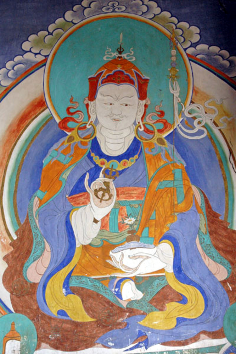 Padmasambhava, also called Guru Rinpoche, translated Buddhist texts into Tibetan language