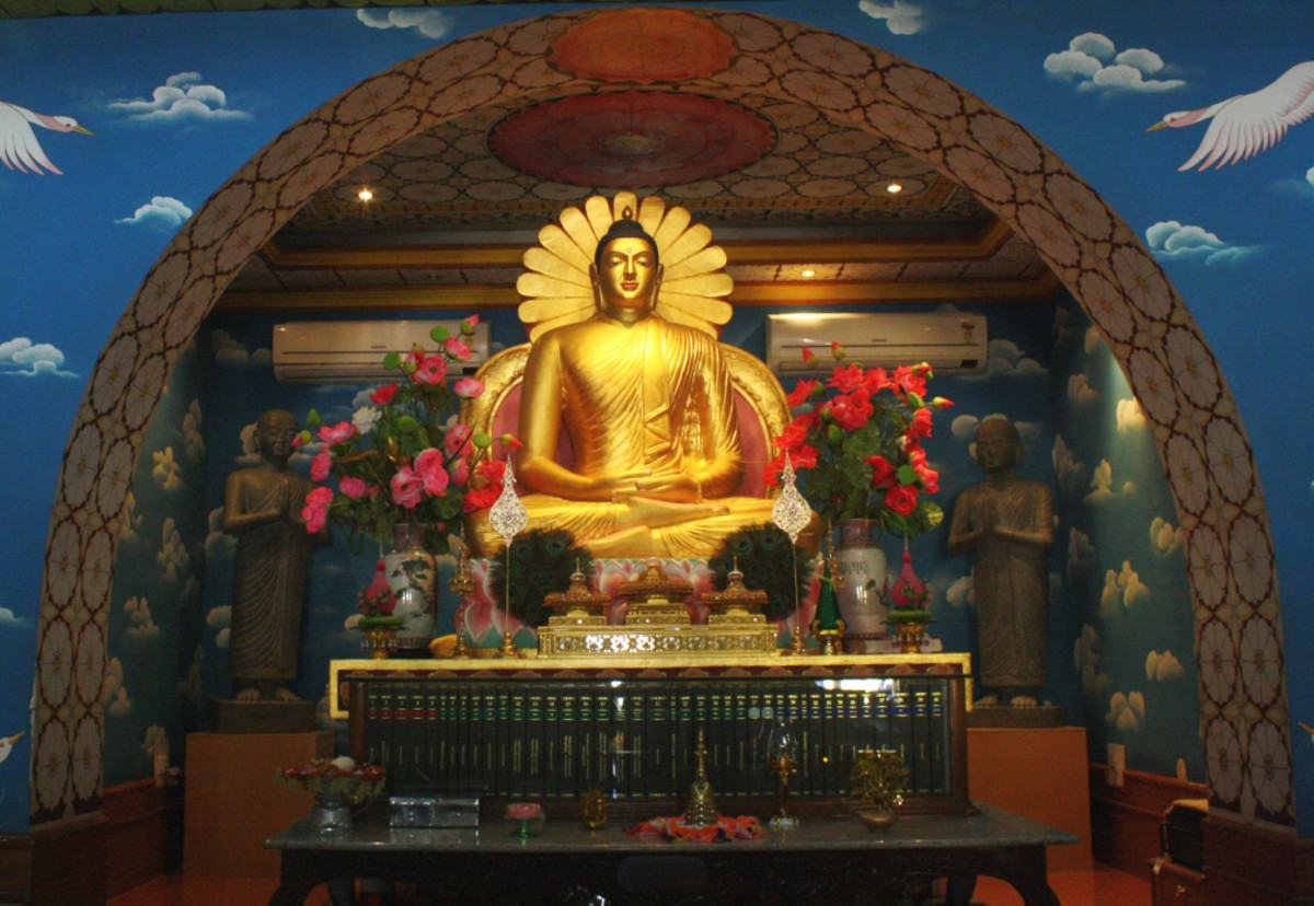 The Buddha, the founder of Buddhism, was born in Lumbini, Nepal, in C. 6th century BCE