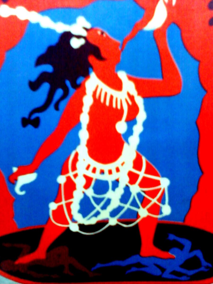 Dakini is a powerful deity in Tibetan Buddhist Rituals